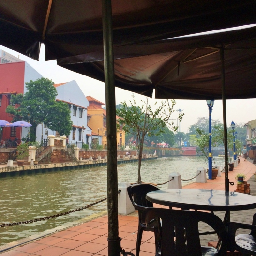 Down by the river in Malacca City.